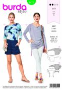 6415 Burda Pattern: Ladies Tops